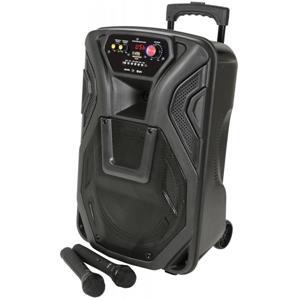 QK12PA – Portabelt PA med Blåtand och trådlösamikrofoner!